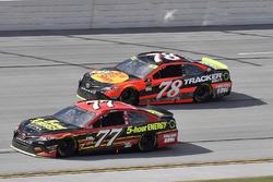 Erik Jones, Furniture Row Racing Toyota and Martin Truex Jr., Furniture Row Racing Toyota