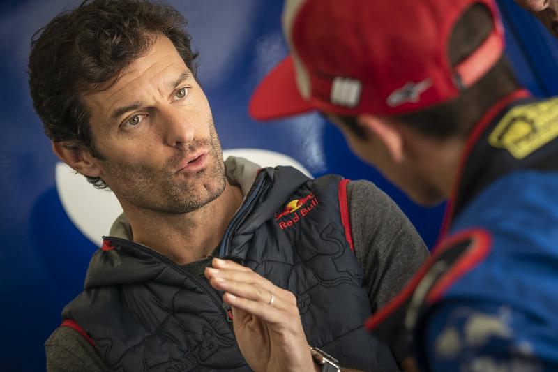 Mark Webber en Marc Marquez