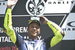 Podium: derde Valentino Rossi, Yamaha Factory Racing