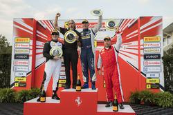 Podium: winner #125 Ferrari of San Francisco Ferrari 458: Matt Keegan