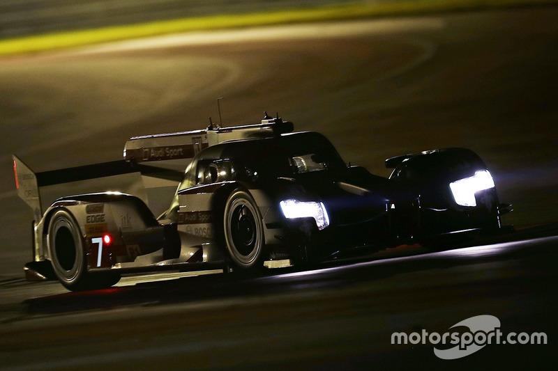 6. LMP1: #7 Audi R18: Marcel Fässler, Andre Lotterer, Benoit Tréluyer