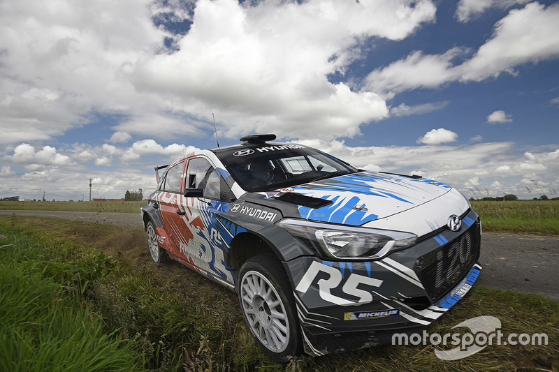 Kevin Abbring, Sebastian Marshall, Hyundai i20 R5, Hyundai Motorsport