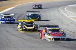 #451 Flying Lizard Motorsports Porsche GT3R: Andy Wilzoch, Darren Law