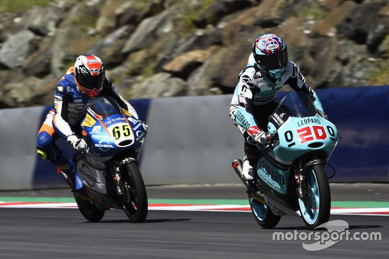 Fabio Quartararo, Leopard Racing, KTM; Philipp Öttl, Schedl GP Racing, KTM