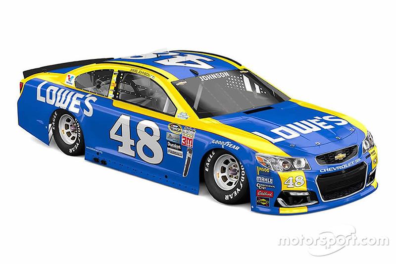 Jimmie Johnson, Hendrick Motorsports Chevrolet, livrea speciale