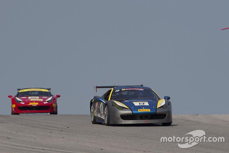 #13 Ontario Ferrari 458: Marc Muzzo