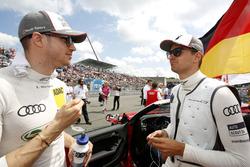 Edoardo Mortara, Audi Sport Team Abt Sportsline, Audi RS 5 DTM und Nico Müller, Audi Sport Team Abt