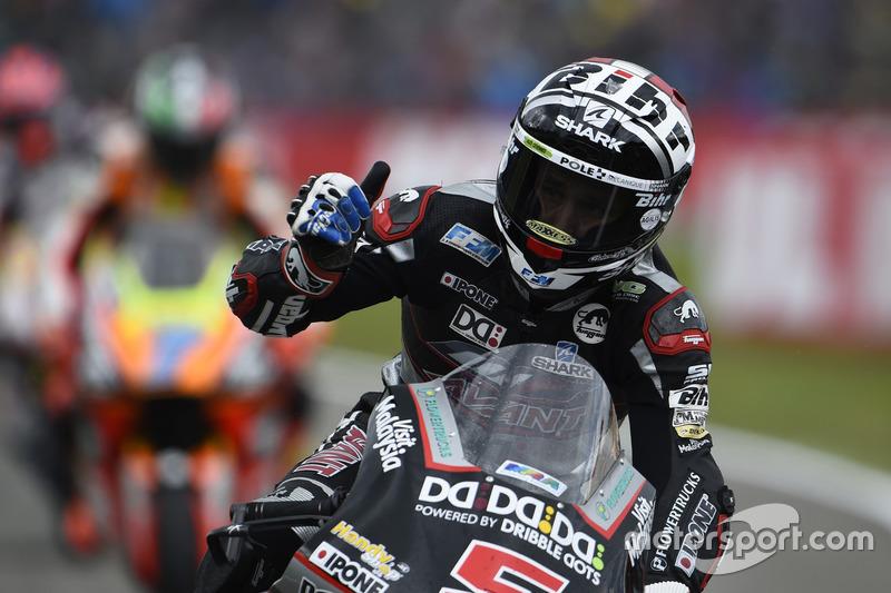 İkinci sıra Johann Zarco, Ajo Motorsport