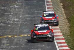 Yvan Muller, Citroën World Touring Car Team, Citroën C-Elysée WTCC and José María López, Citroën World Touring Car Team, Citroën C-Elysée WTCC