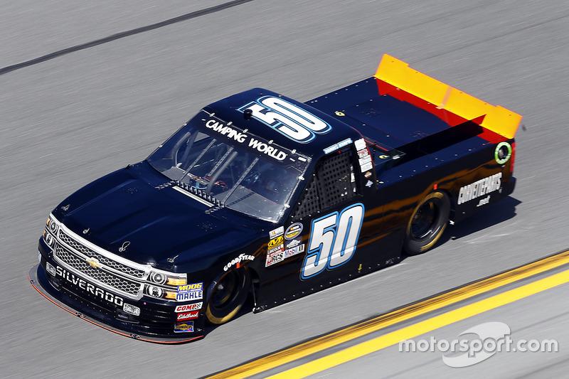 #50 Travis Kvapil (Make-Chevrolet)