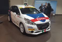 La Peugeot 208 R2 di Giuseppe Testa e Daniele Mangiarotti