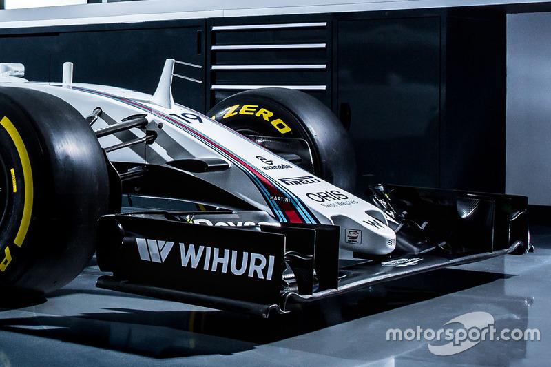 Felipe Massa, Williams FW38 nose detail