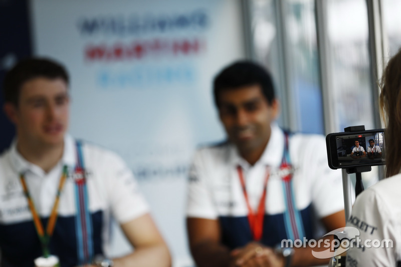 Paul di Resta y Karun Chandhok