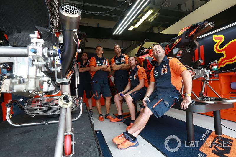 Команда Red Bull KTM Factory Racing team