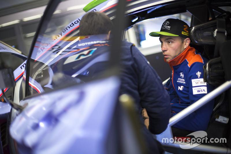 Hayden Paddon, Hyundai Motorsport