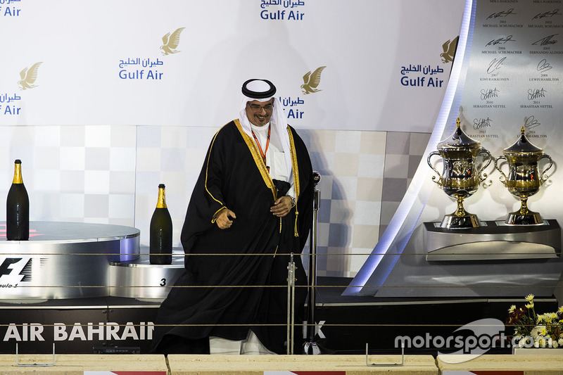 Sheikh Salman bin Hamad bin Isa Al Khalifa, Crown Prince of Bahrain