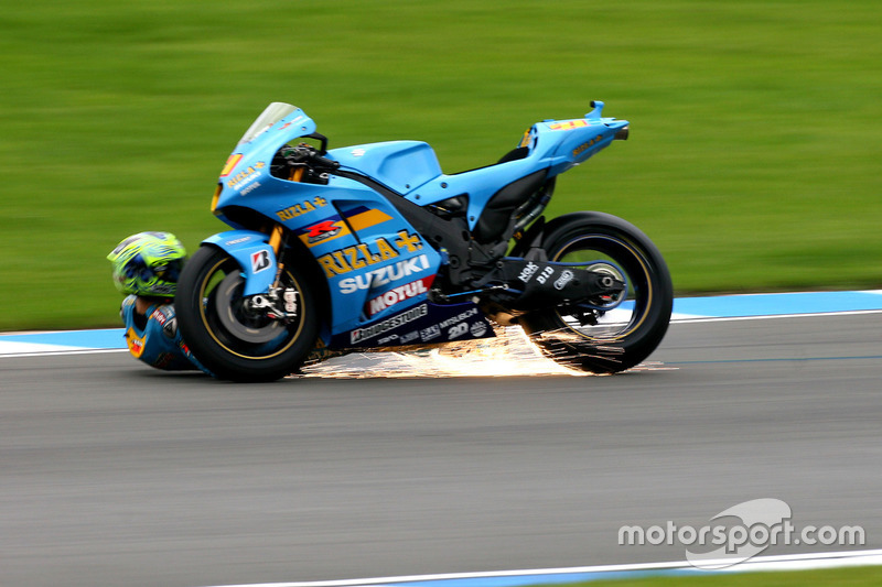 MotoGP, Donington 2007: Chris Vermeulen, Suzuki GSV-R
