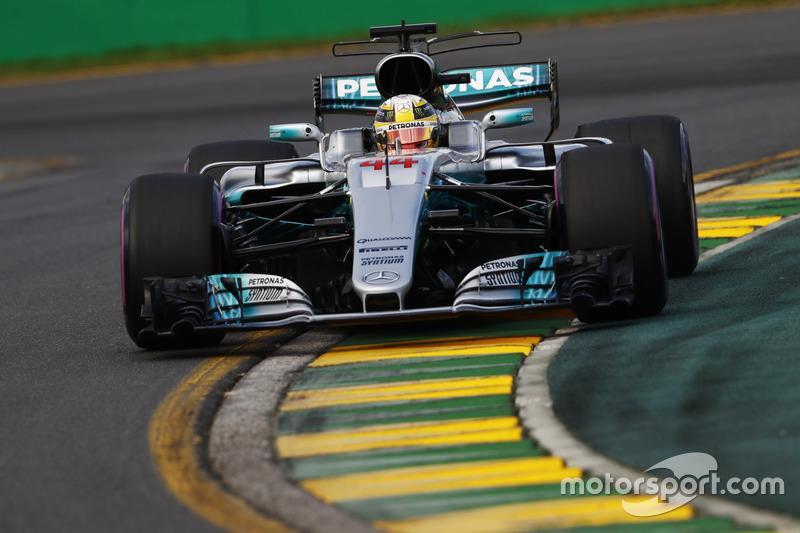1: Льюіс Хемілтон, Mercedes AMG F1 W08