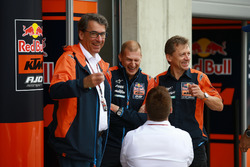 Red Bull KTM Factory Racing: Aki Ajo, Stefan Pierer, Pit Beirer, Mike Leitner