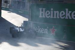 Unfall: Jolyon Palmer, Renault Sport F1 Team RS17