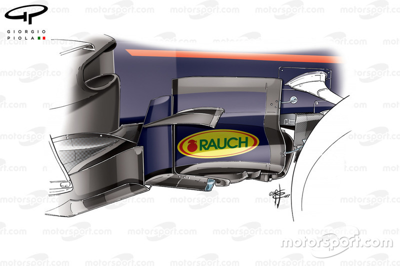 Red Bull RB13: Windabweiser, GP Kanada