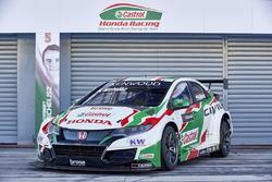 Auto von Norbert Michelisz, Honda Racing Team JAS, Honda Civic WTCC