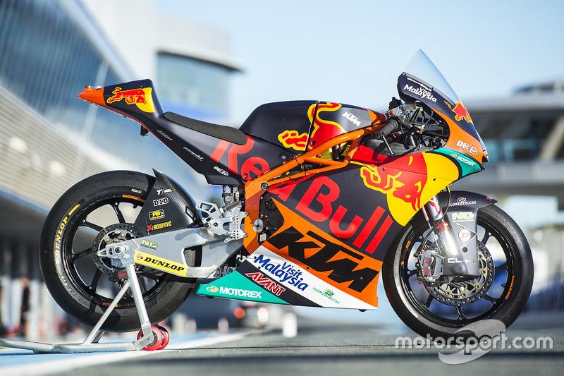 Moto de Miguel Oliveira, Red Bull KTM Ajo