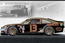 Throwback-Design: Ty Dillon, Germain Racing Chevrolet