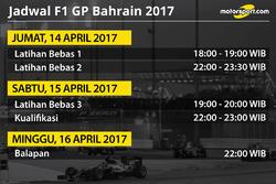 Jadwal F1 GP Bahrain 2017