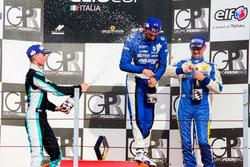 Gustavo Sandrucci, Melatini Racing festeggia sul podio
