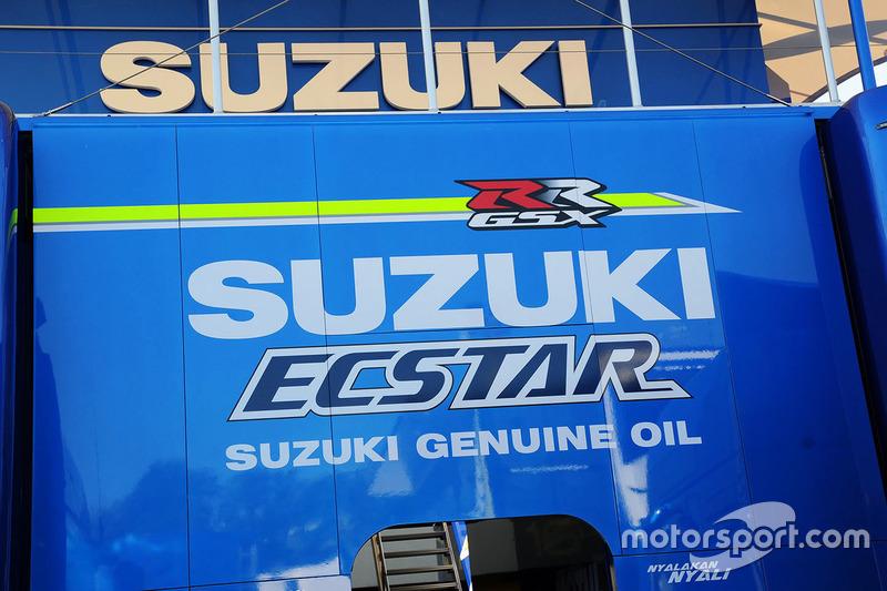 Team Suzuki MotoGP, Motorhome