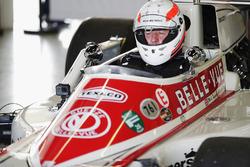 Martin Brundle fährt einen March 761 von Patrick Neve