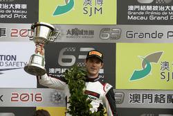 Podium: second place Kévin Estre, Manthey Racing Porsche 911 GT3-R