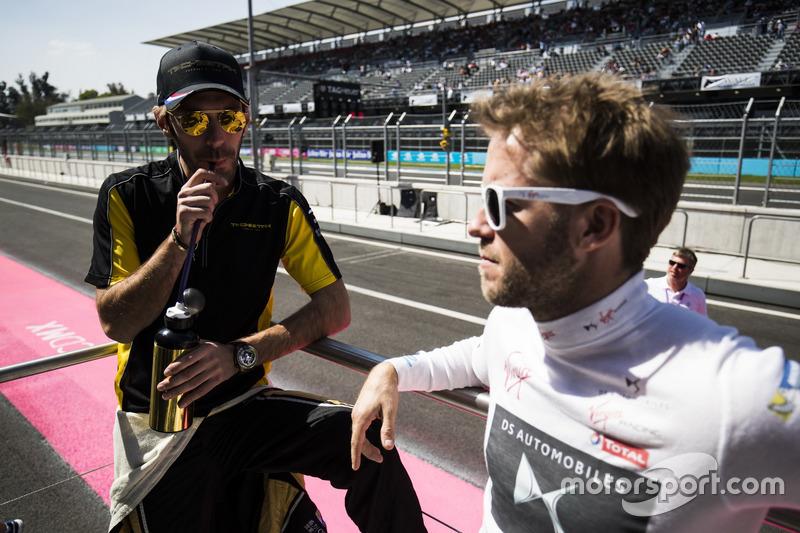 Jean-Eric Vergne, Techeetah; Sam Bird, DS Virgin Racing