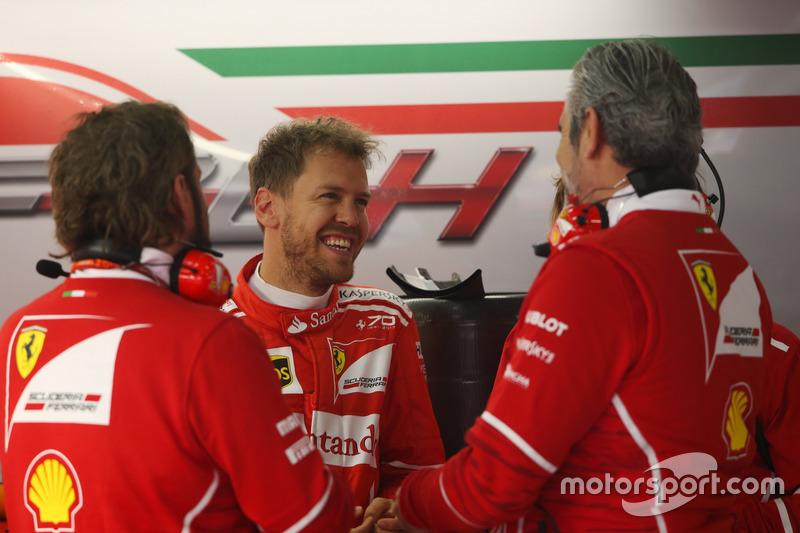 Себастьян Феттель, Ferrari, керівник Ferrari Мауріціо Аррівабене