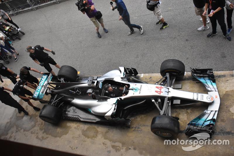 Detail Mercedes AMG F1 W08