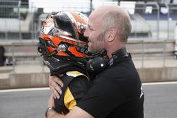 Race winner Max Fewtrell, Tech 1 Racing