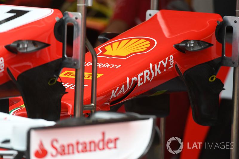 Ніс Ferrari SF70-H