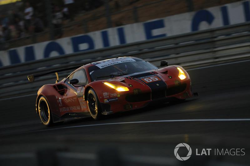 14. LMGTE-Am: #65 Scuderia Corsa, Ferrari 488 GTE