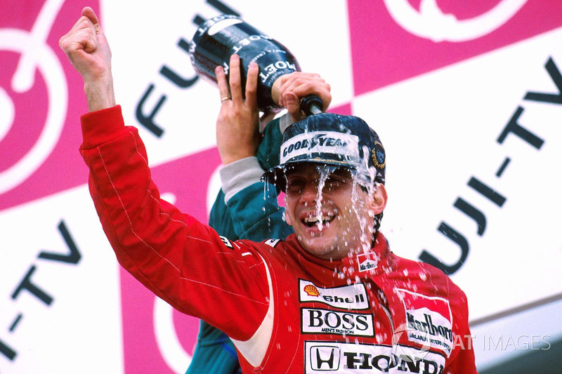Ayrton Senna (1988, 1990 y 1991)