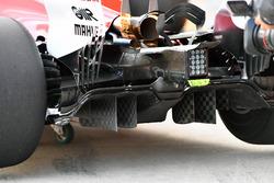 Ferrari SF70H, dettaglio del diffusore posteriore