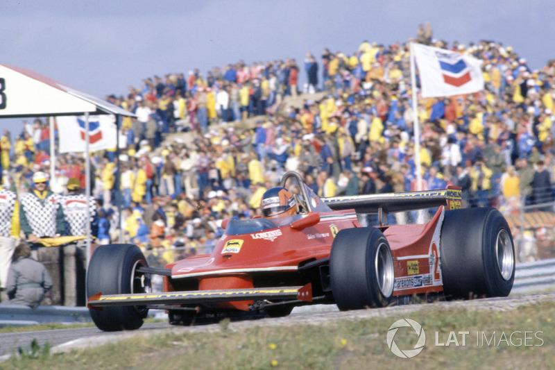 Жиль Вільньов, Ferrari 312T5