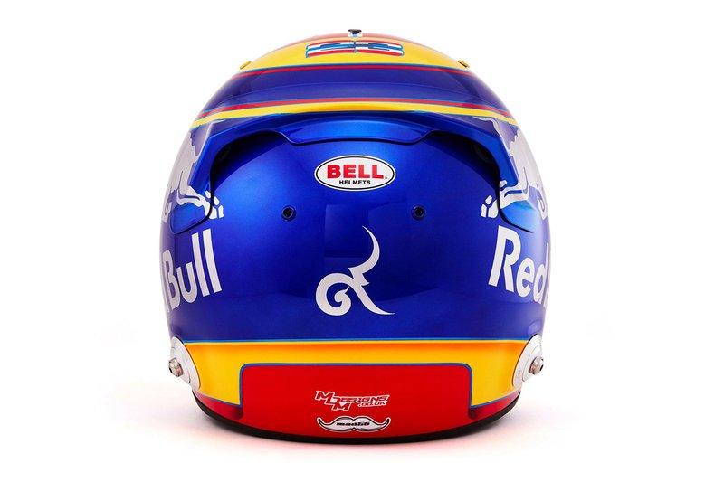 Helm Alex Albon, Scuderia Toro Rosso