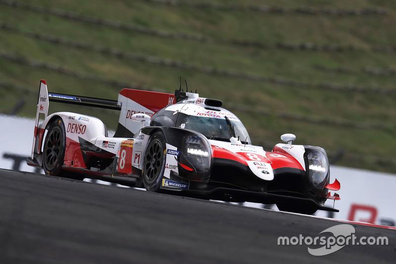Себастьян Буемі, Казукі Накадзіма, Фернандо Алонсо, Toyota Gazoo Racing Toyota TS050 #8