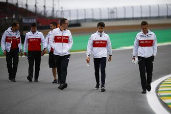 Ознакомление с трассой: Шарль Леклер, Alfa Romeo Sauber