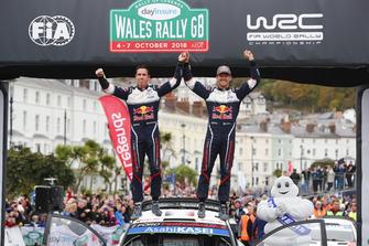 Winners Sébastien Ogier, Julien Ingrassia, M-Sport Ford WRT Ford Fiesta WRC