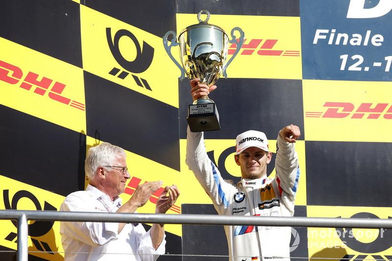Podio: segundo, Marco Wittmann, BMW Team RMG