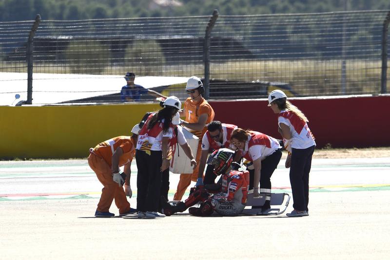 Аварія Хорхе Лоренсо, Ducati Team
