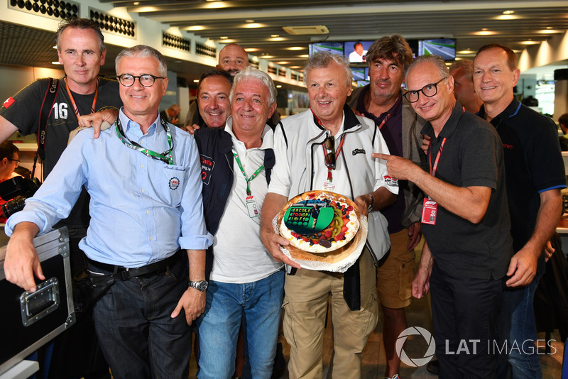 Ercole Colombo, Photographer celebrates his 700th Grand Prix