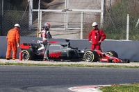 Romain Grosjean, Haas F1 Team VF-17 off the circuit